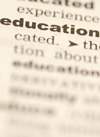 Thesaurus entry for education