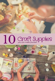 DIY Craft Supplies Pinterest Graphic