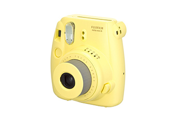 Fujifilm Instax Yellow Camera