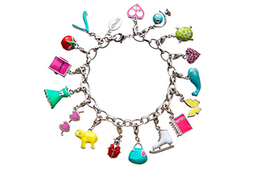 gifts that give back, Altruette charity charm bracelet