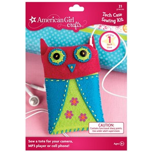 American Girl owl sewing kit