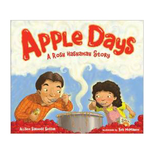 Apple Days Rosh Hashanah Story, children's book