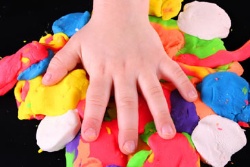 PlayDough,Art,Sculpting,Kid'sHand