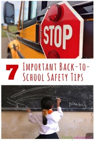 BTS Important Safety Tips Pinterest Graphics