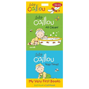 Baby Caillou All Clean, children's book