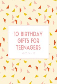 Best Birthday Gifts for Teens Pinterest Graphics
