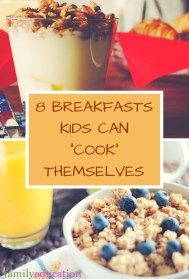 Breakfasts Kids Can Cook Pinterest Graphic