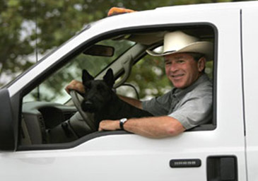 PresidentialPets,GeorgeW.Bush,dog,Barney