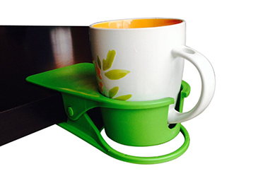 Coffee Cup Holder Desk Clip