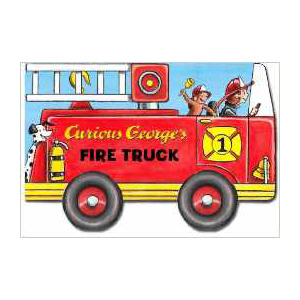 Curious George's Fire Truck, children's book