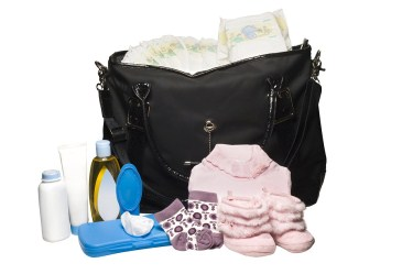 Diaper Bag and Baby Supplies