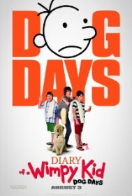 book turned movie, Diary of a Wimpy Kid Dog Days