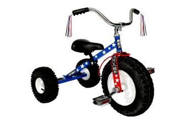 Best Toys Made in the USA, Dirt King patriot tricycle