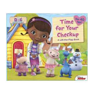 Doc McStuffins Time for a Checkup, children's book