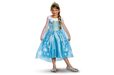 Elsa Frozen movie costume