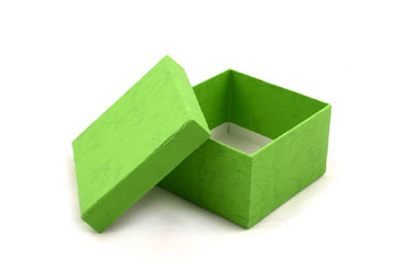 EmptyGreenGiftBox