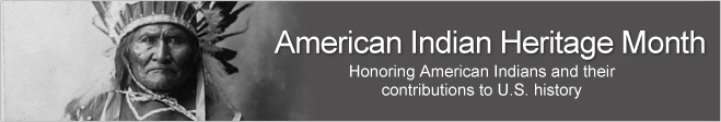 Click Here to Return to American Indian Heritage Month