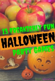 Freakishly Fun Halloween Games Pinterest Graphic