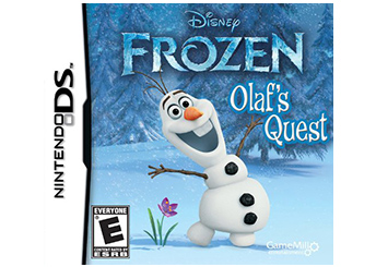 Frozen Olaf's Quest DS game