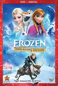 Frozen Sing Along Edition DVD
