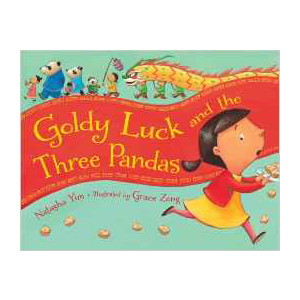Goldy Luck and the Three Pandas, children's book