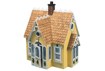 Best Toys Made in the USA, Greenleaf Dollhouse kit buttercup cottage