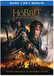 Hobbit 3 Battle of Five Armies DVD