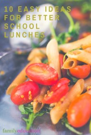 Easy Ideas for Different School Lunches