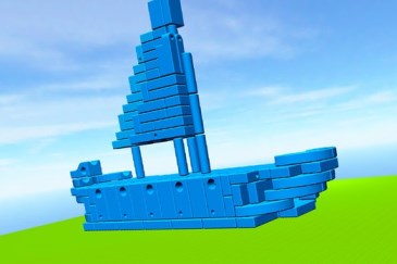 Imagination Playground 3D Builder app