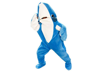 Left Shark Super Bowl costume