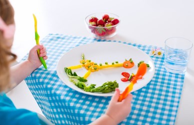 Healthy Vegetarian Lunch for Kids