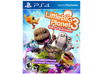 Little Big Planet 3 PS4 game