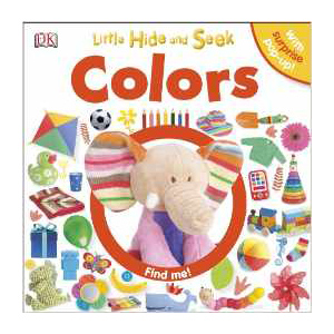 Little Hide and Seek Colors, children's book
