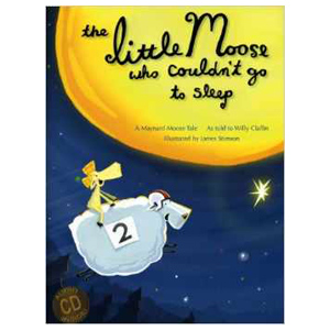 Little Moose Who Couldn't Sleep, children's book