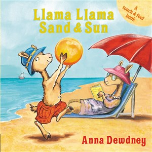 Llama Llama Sand and Sun, board book