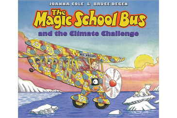 Earth Day books, Magic School Bus Climate Change
