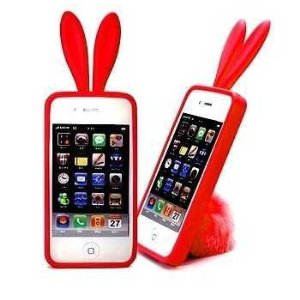 Teen Christmas gift idea 2012, bunny ear iPhone case
