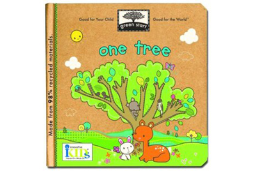 Earth Day books, One Tree ecology for preschoolers