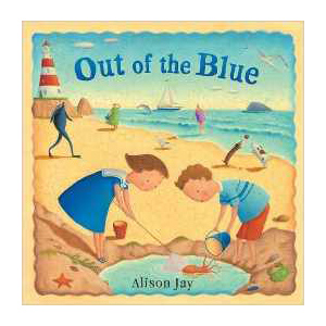 Out of the Blue, children's book