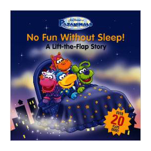 Pajanimals No Fun Without Sleep, children's book
