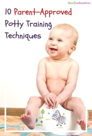 Parent Approved Potty Training Techniques Pinterest Graphic