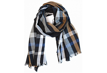 Plaid Moges Scarf
