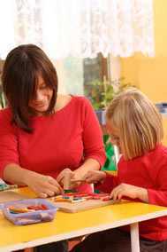 Preschooler,woodenblocks,younggirl
