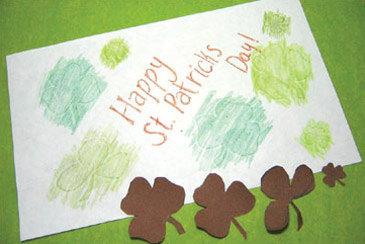 Shamrock Rubbings