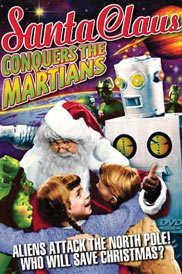 Christmas,Movie,DVD,SantaConquersTheMartians