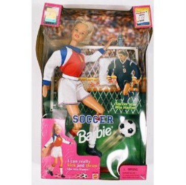 ClassicToy,Barbiedollsoccerplayer