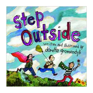 Step Outside, children's book