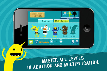 free app for kids, Sushi Monster