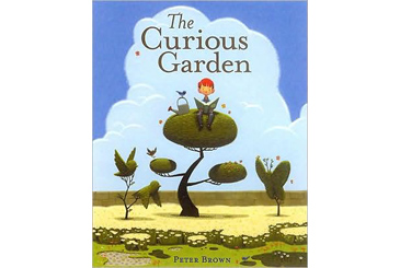 Earth Day books, The Curious Garden urban gardening