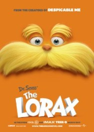 Dr Seuss The Lorax Movie Poster